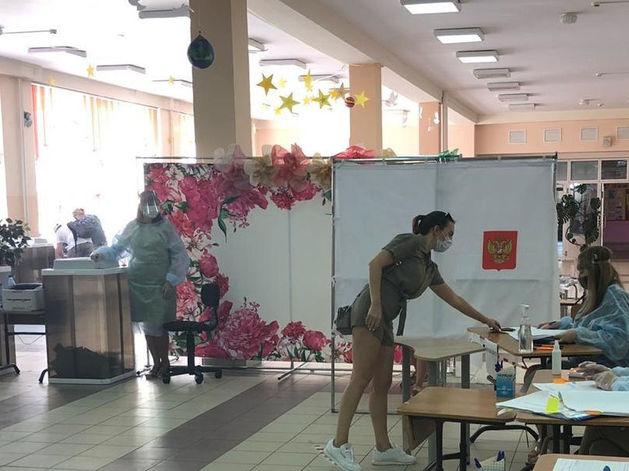 Большинство красноярцев проголосовало за поправки в Конституцию