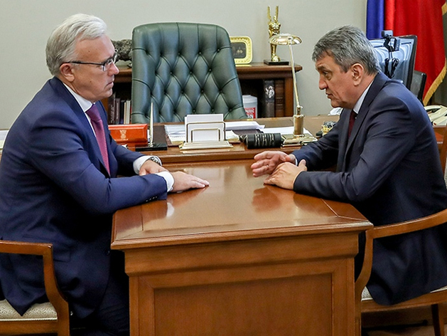 Сергей Меняйло и Александр Усс обсудили коронавирус и Норильск