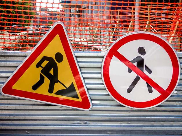В Красноярске временно меняется схема движения на нескольких участках