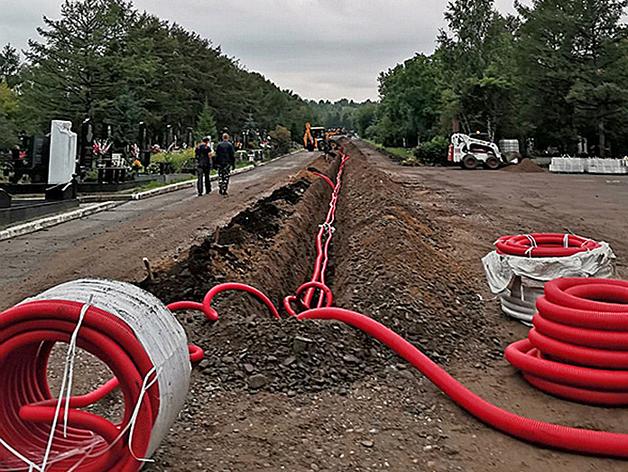 На кладбище Бадалык началась реконструкция