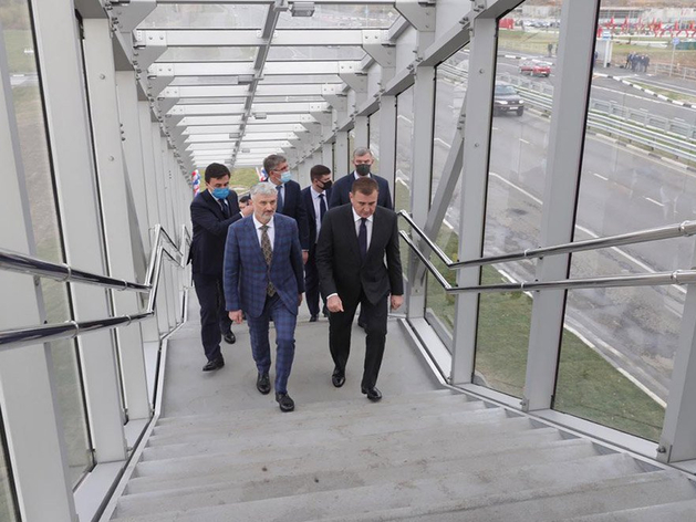 КраМЗ изготовил конструкции для алюминиевого моста в Туле