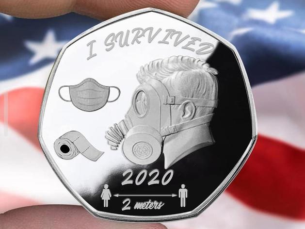 В продаже появились сувенирные монеты «Выжившие»