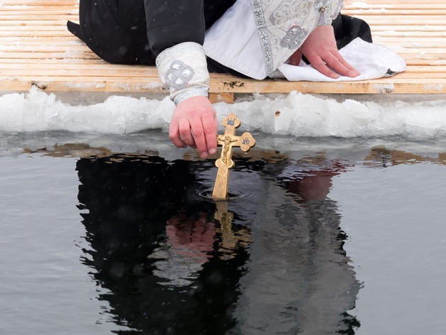В Красноярске отменены крещенские обряды