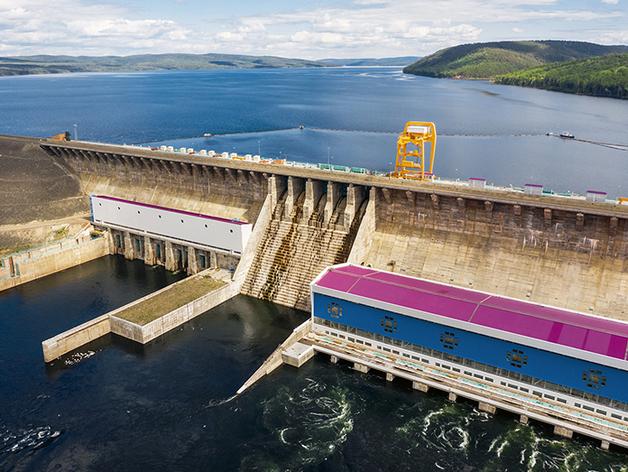 Богучанская ГЭС: режим включенности