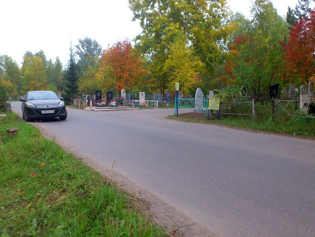Кладбище в пос. Шинников, Красноярск