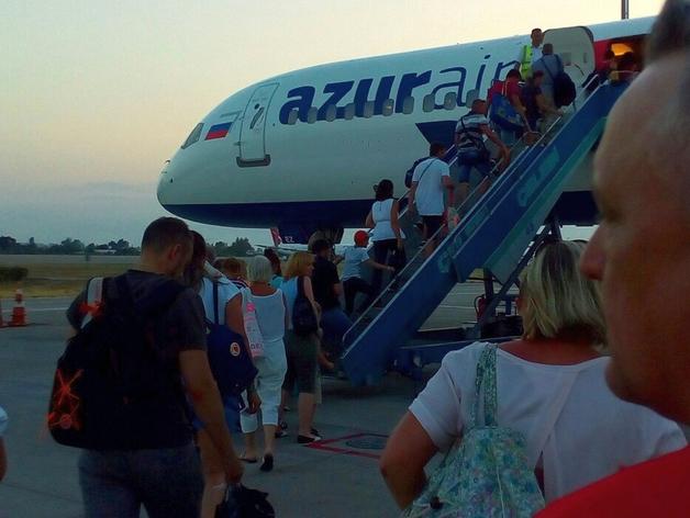 Первый посткарантинный рейс в Египет из Красноярска улетел при полной загрузке