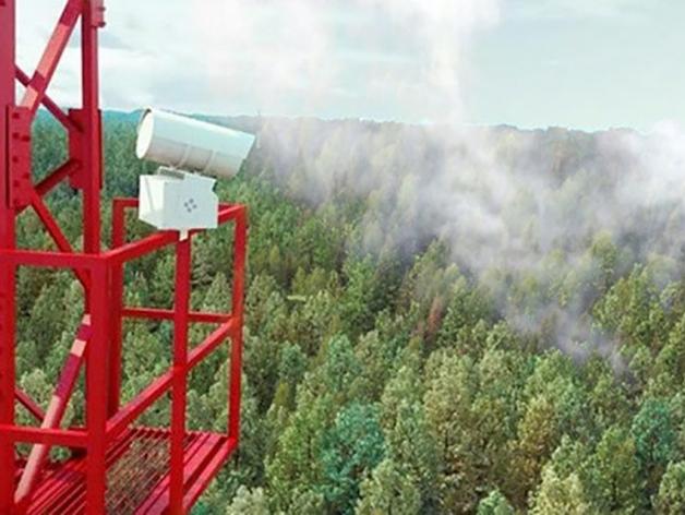 В Красноярском крае увеличили количество видеокамер для мониторинга лесных пожаров