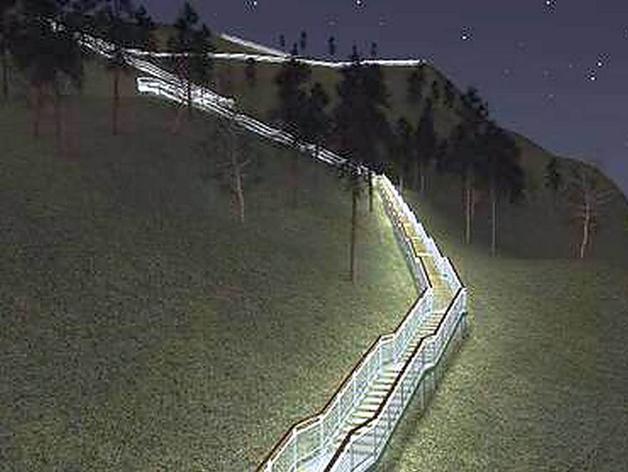 В Красноярске построят лестницу за 47 млн рублей
