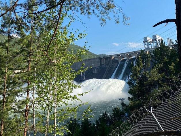Красноярская ГЭС не будет увеличивать сброс воды