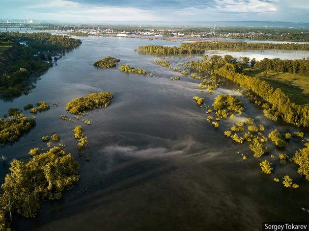 Уровень воды в Енисее: в Кызыле снижается, в Красноярске растет