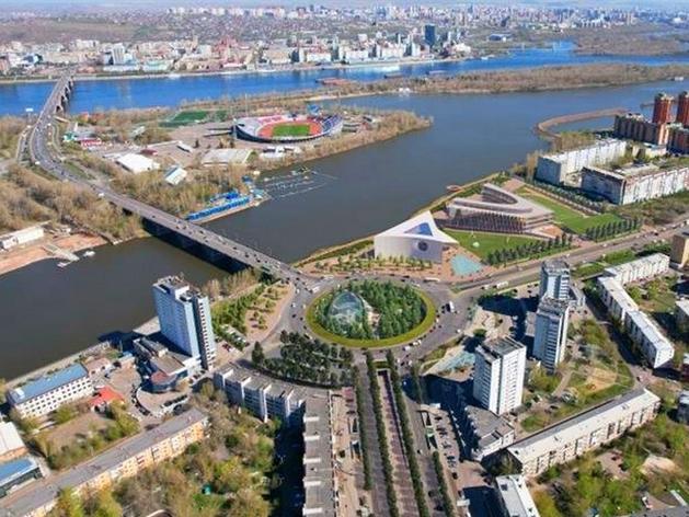 Красноярск: Предмостную площадь преобразуют в Итальянскую