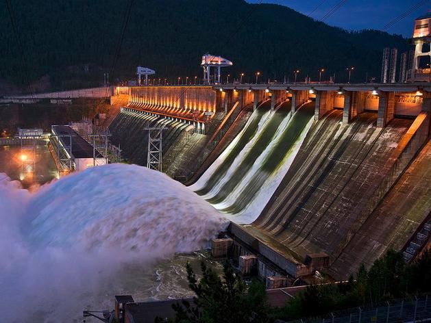 Красноярская ГЭС, 19.06.2021