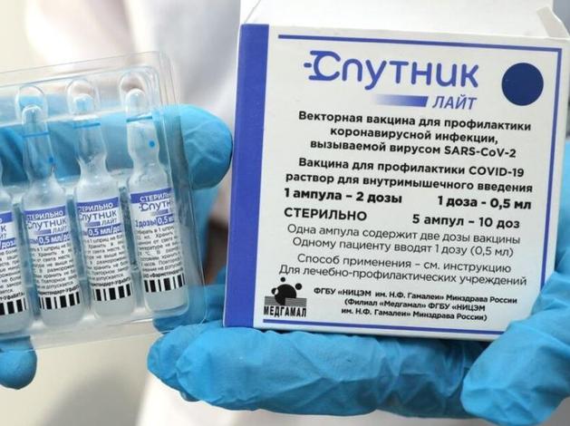 В Красноярский край доставлена первая партия вакцины «Спутник-Лайт». Кому рекомендована?