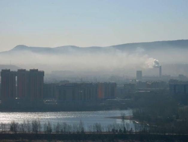 Красноярский край стал абсолютным чемпионом России по экстремальному загрязнению воздуха