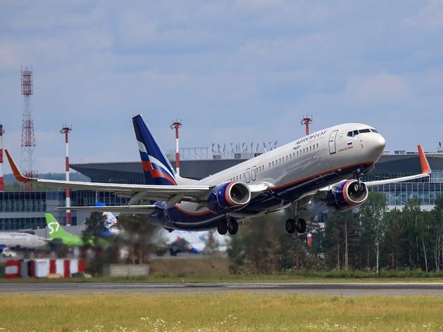 Через аэропорт Красноярска за лето прошел почти миллион пассажиров