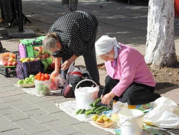 В Красноярске обновили список разрешенных для уличной торговли мест
